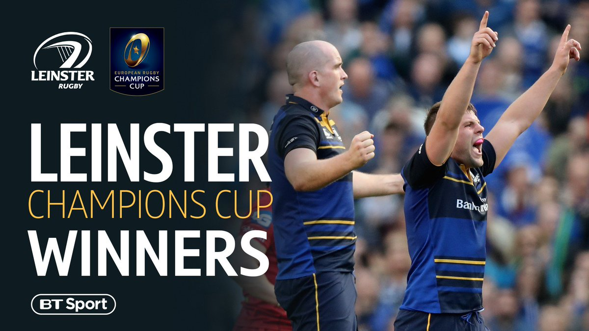 test Twitter Media - ⭐️⭐️⭐️⭐️ Leinster have won a record-equalling fourth #ChampionsCup after a 15-12 win over Racing 92 in Bilbao. https://t.co/kDaHWfeBPg