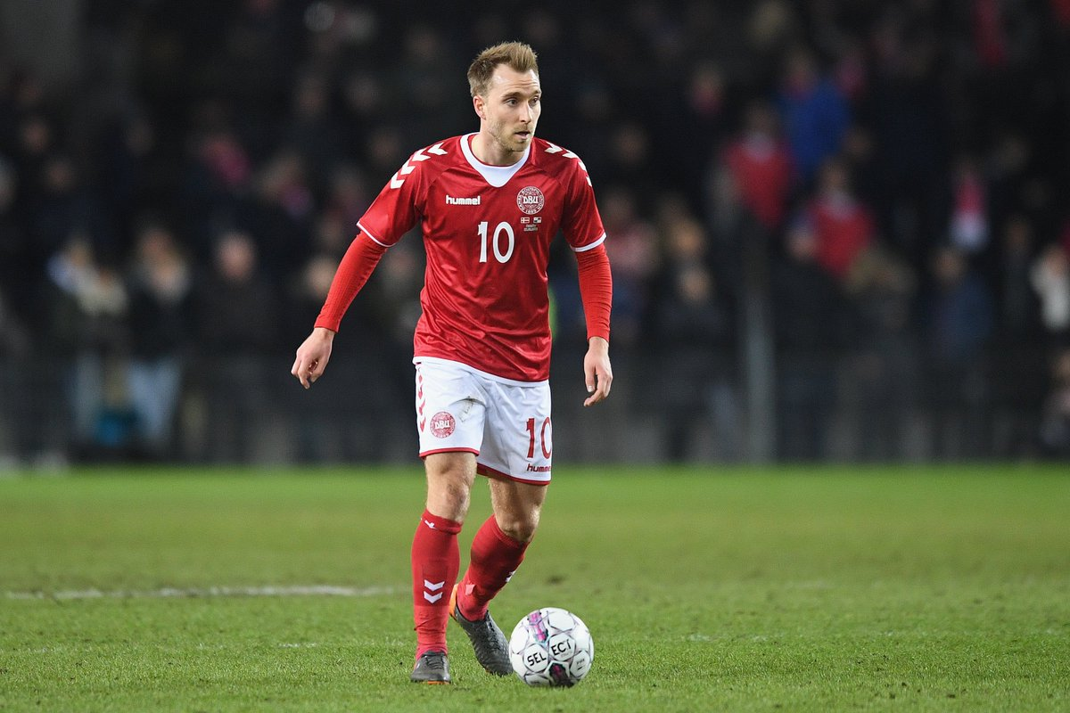 5   The top players in terms o christian eriksen