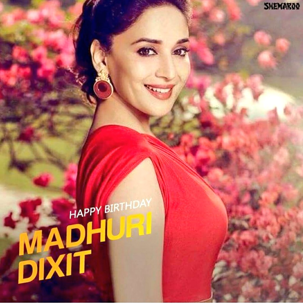 Wish u happy birthday  Madhuri dixit