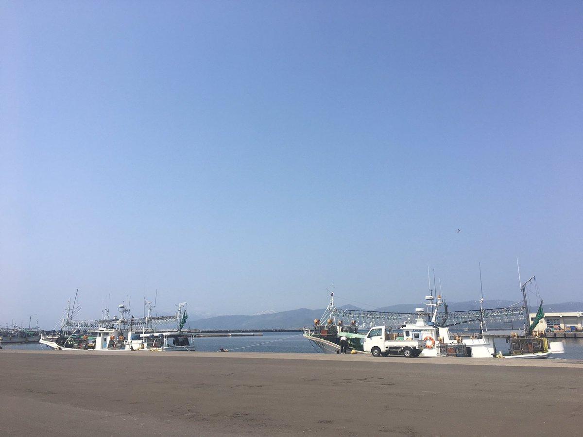 そういや昼はひとり海に行ってた。イカ釣り漁船。 https://t.co/6JZBznpOhn
