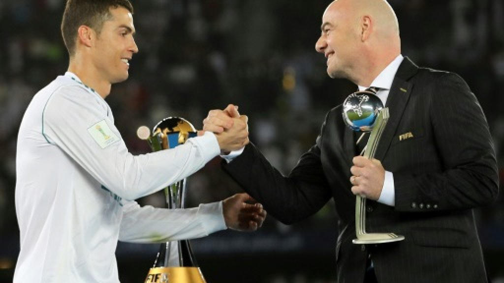 UEFA prepares to fight Infantino's Club World Cup plan