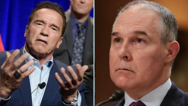Schwarzenegger to Pruitt: Drink contaminated water 'until you tap out or resign' https://t.co/g8WVA86ETO https://t.co/IWGAra405S