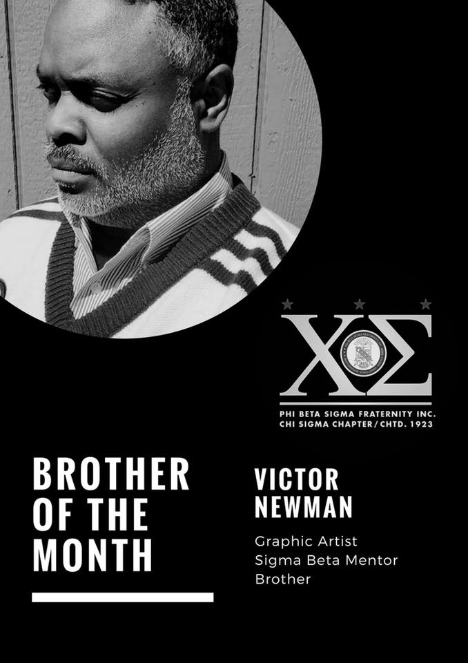 test Twitter Media - It is with great honor that I introduce to you our Bro. Victor Newman, who has been selected as the Almighty Chi Sigma Chapter of Phi Beta Sigma Fraternity Inc. brother of the month. https://t.co/8v3Om6fMa4