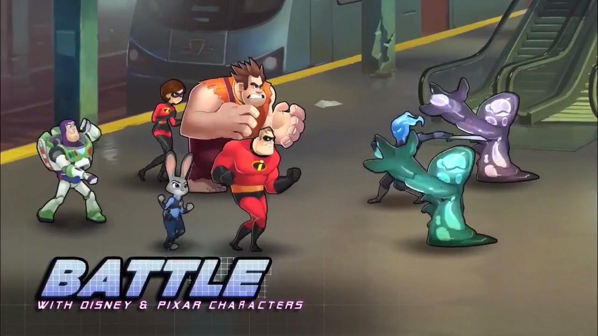 'Disney Heroes: Battle Mode' trailer unites fan favorite characters