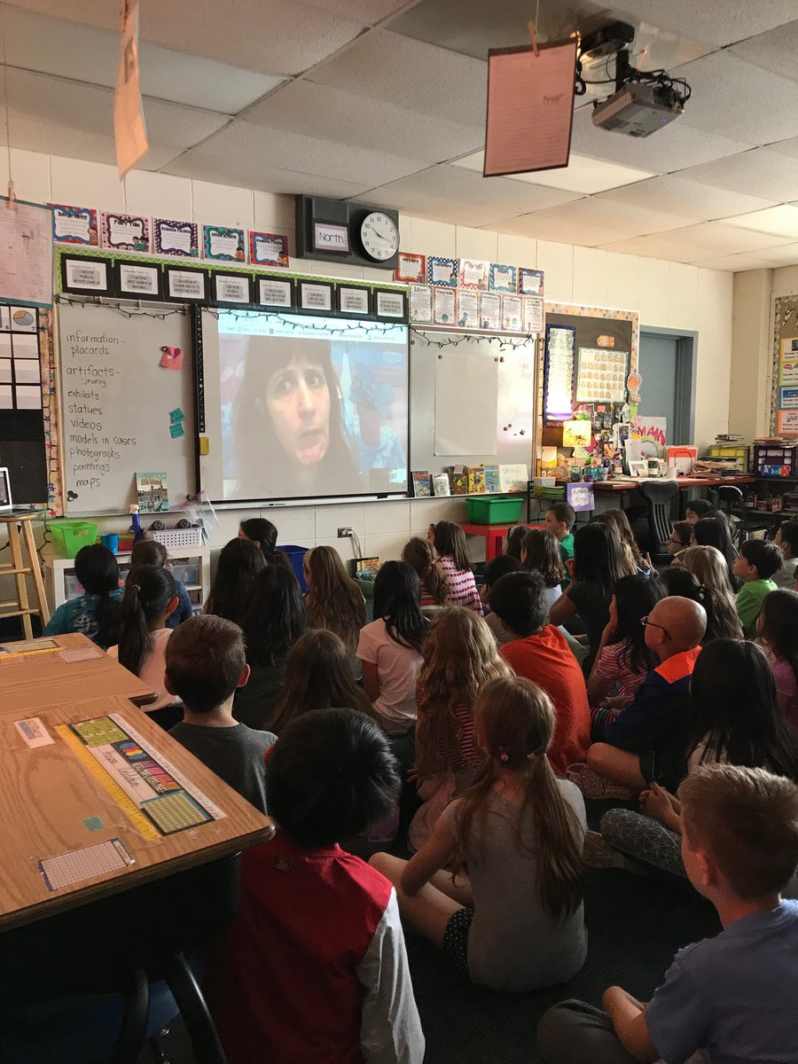 test Twitter Media - A fun morning Skype session with author @taralazar. Great way to kick off our fairy tale unit! #d30learns https://t.co/3eljOEWXmN
