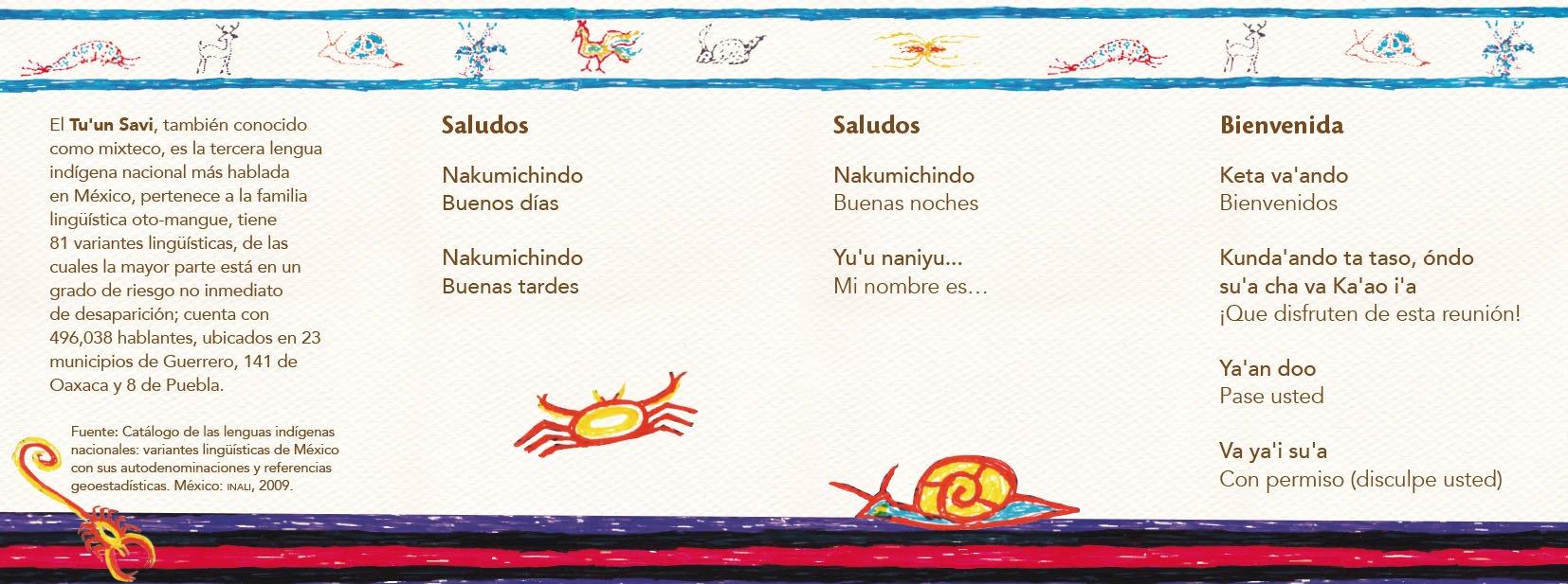 Conoce las frases de cortesía en lenguas indígenas @cultura_mx @INALIMEXICO https://t.co/aJTWL5D3Lx
