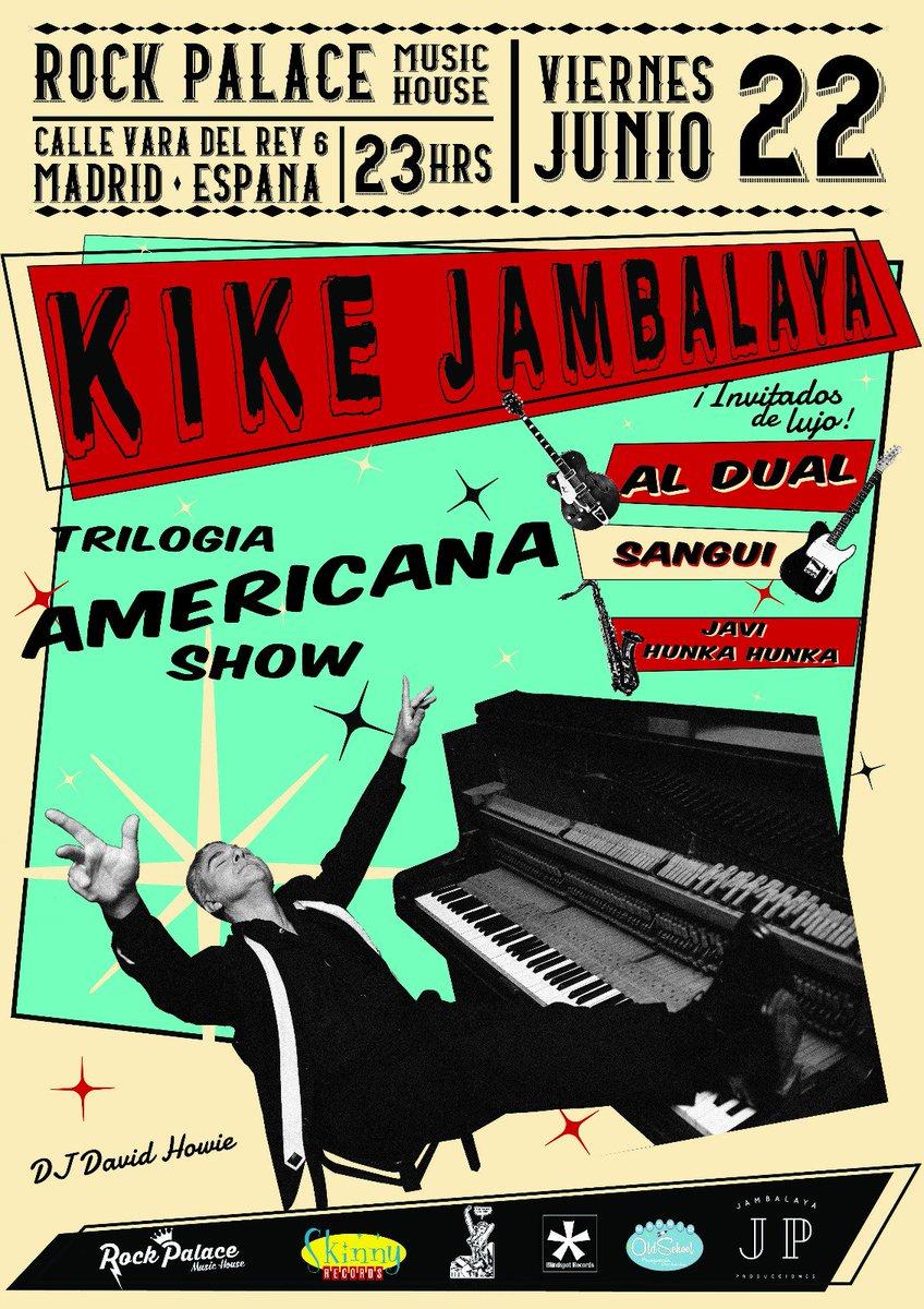 test Twitter Media - Trilogía Americana Show. Invitados de lujo. Rock'n'Roll con metales.  #rockabilly #rock #rockandroll #vintage #boogiewoogie #countrymusic #honkytonk #blues #musicaenvivo #50s https://t.co/FPivokWGLc