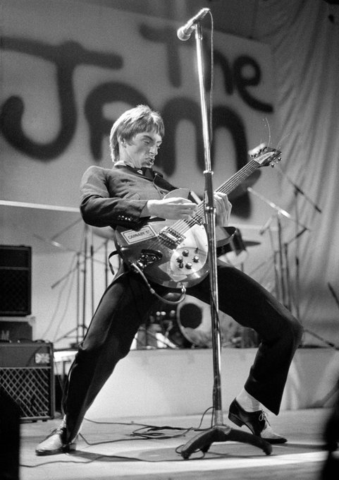 Happy 60th Birthday to the Modfather himself, Mr Paul Weller