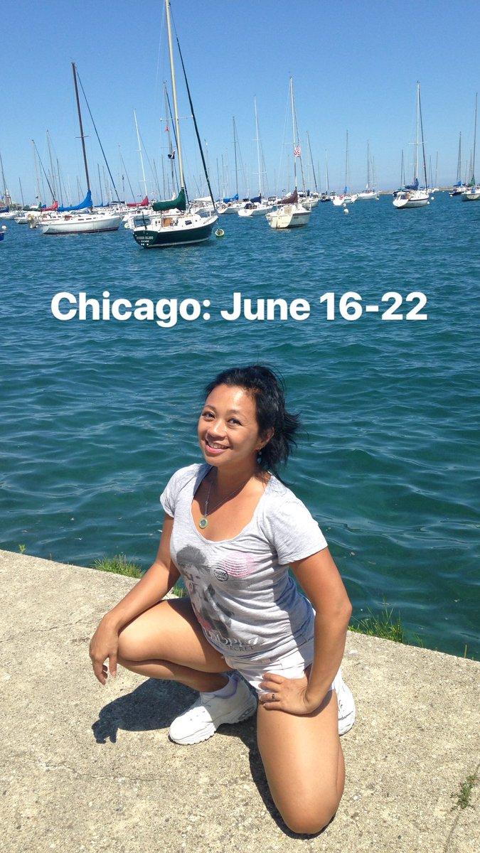 New travel dates: Chicago, June 16-22. JPZn8B5ZZe