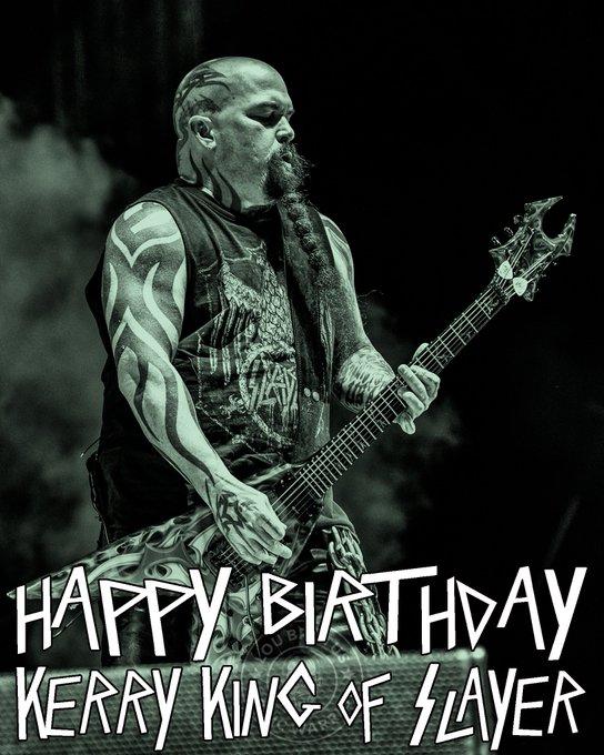 Happy Birthday Kerry King of Slayer!