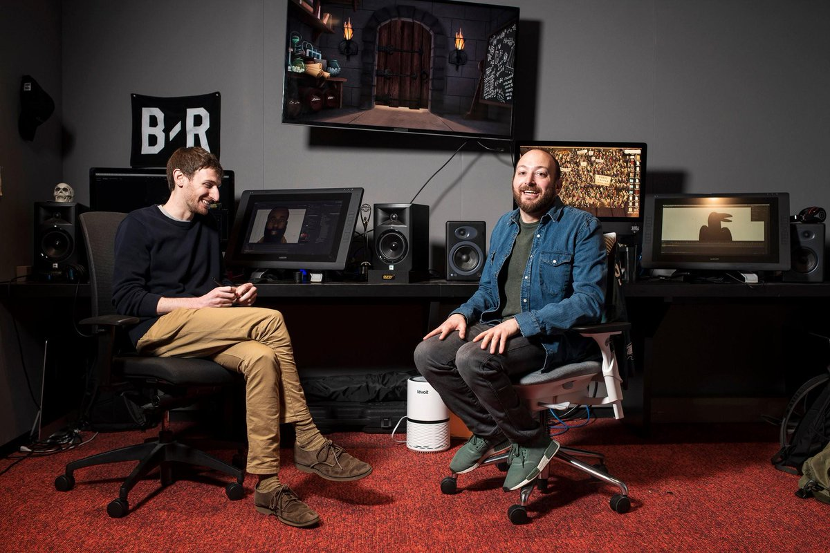 "test Twitter Media - .@mutsackcraig BA '12, MA '13 and his brother @mutsack have cleverly combined ""Game of Thrones"" and the @NBA to create a hit sports comedy show backed by @BleacherReport, ""Game of Zones"": https://t.co/C5AwjfAZQa, via @nytimes https://t.co/RLG5e4HRQG"