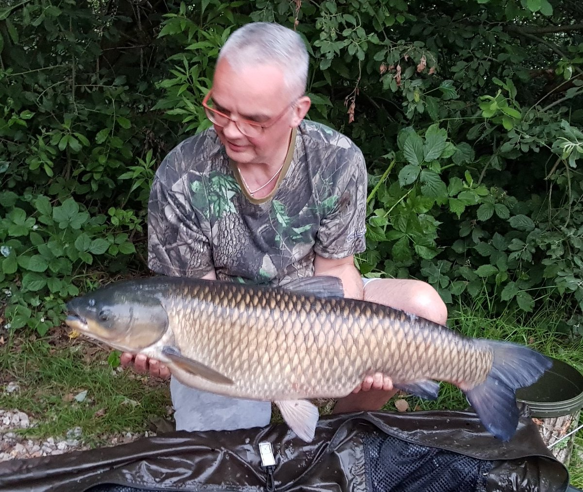 PB smashed!!! 3<b>5lb</b> of Belgian Grass Carp, never caught a