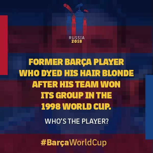 Time for another #BarçaWorldCup quiz - can you identify this talented midfielder? https://t.co/YnHDj3itpi