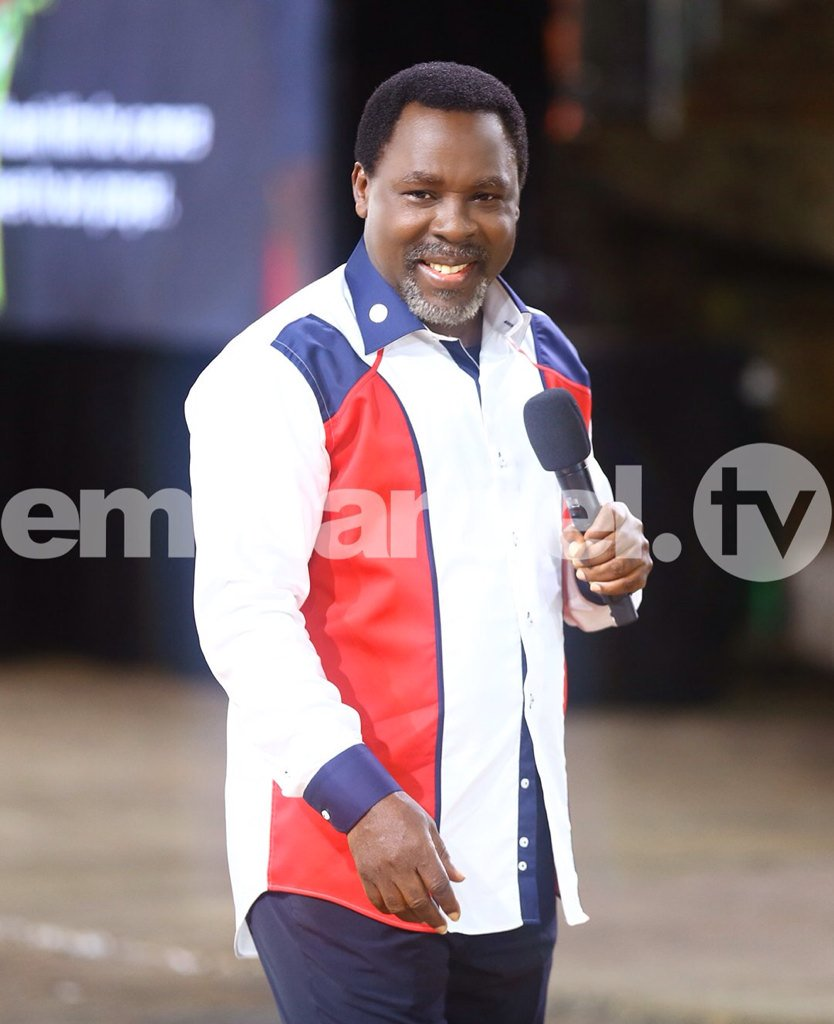 Happy Birthday Prophet T.B Joshua...more blessing,more anointing of God.