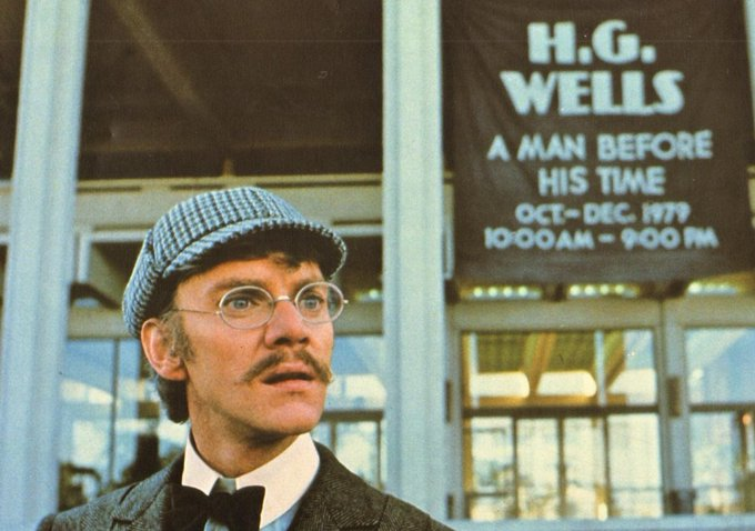 Happy birthday Malcolm McDowell - These days we can use more TIME AFTER TIME than CLOCKWORK ORANGE
