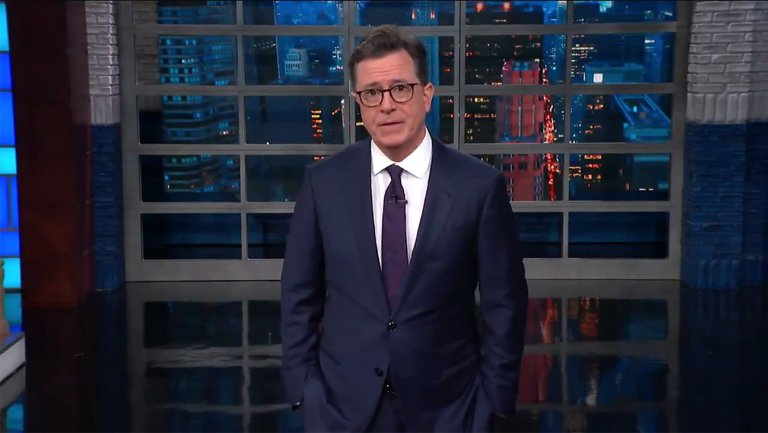 .@StephenAtHome rips homeland security for border policy