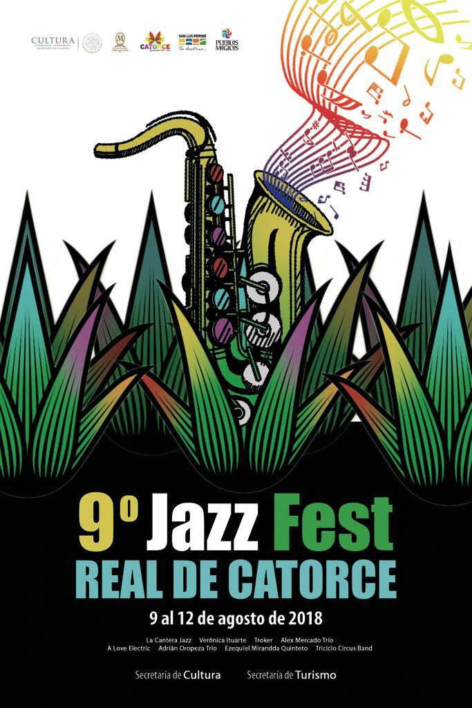 RT @sanchezps66: 9o Jazz Fest en Real de Catorce, S.L.P. 9 al 12 Agosto 2018 https://t.co/hqHfo8Crom