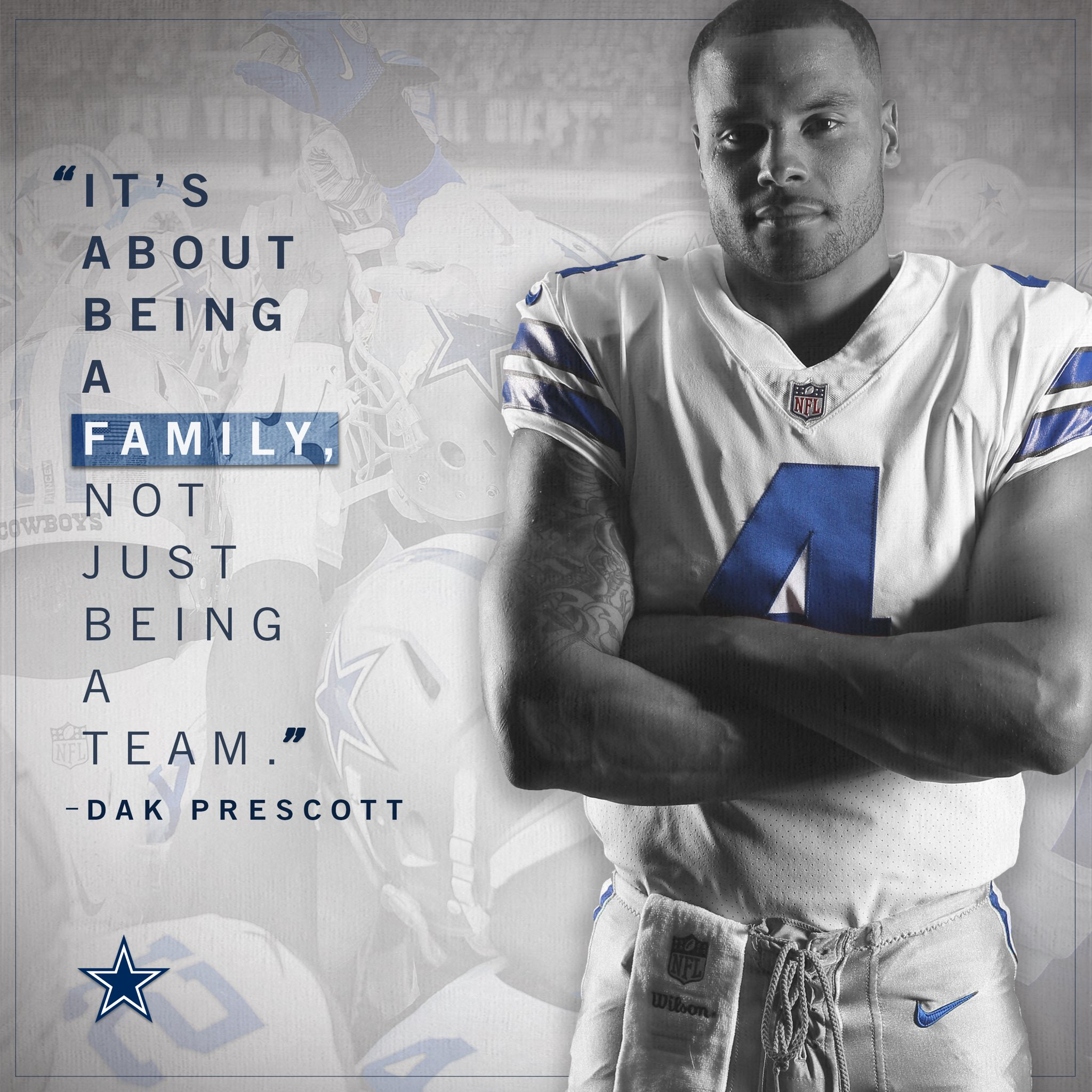 The #DallasCowboys are more than a team. #MotivationMonday https://t.co/SM5yTE5gqv