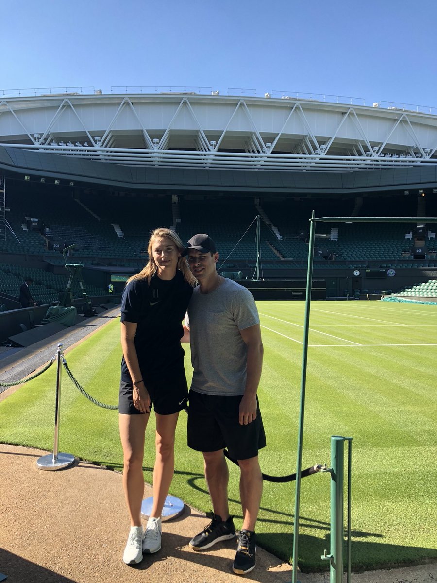 A little tour of #Wimbledon with Sidney Crosby ???????? https://t.co/l5vYazaTFl