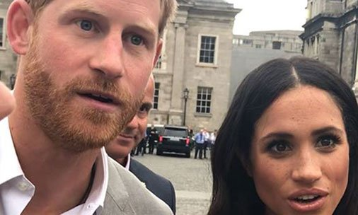 Find out which gift gave Prince Harry and Meghan Markle this shocked reaction: