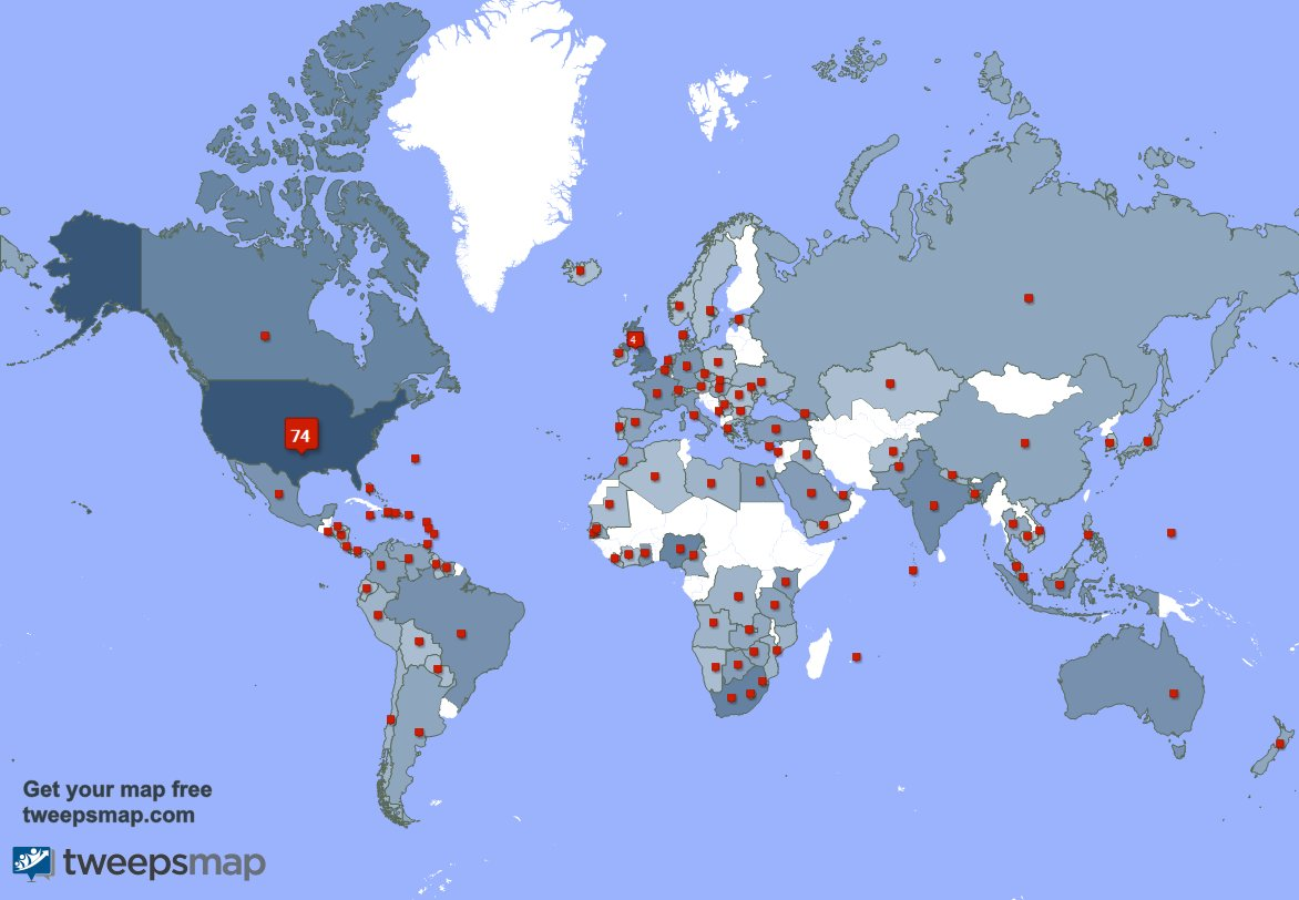I have 16 new followers from India 🇮🇳, South Africa 🇿🇦, and more last week. See GCleYnYflL