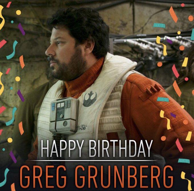 Happy birthday Greg Grunberg