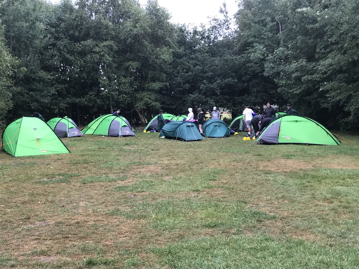 test Twitter Media - Morning (slightly soggy) campers! #DofE https://t.co/klv0lFdaty