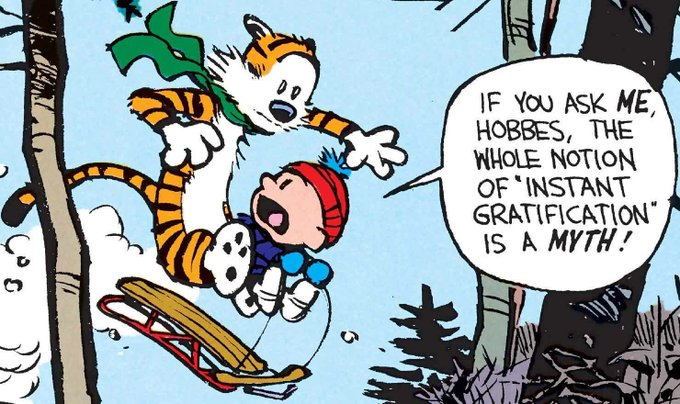 Happy birthday to Bill Watterson, whose work has brought so many of us so much joy