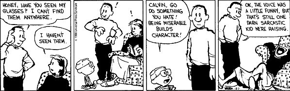 Happy birthday, Bill Watterson. This is one of my favourites.