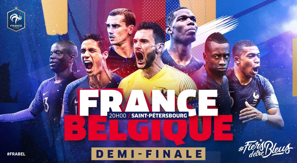 RT @equipedefrance: Un pays. Un peuple. Une équipe. Tous ensemble nous serons #FiersdetreBleus ???? ???????? #FRABEL https://t.co/GwHf8Mz7Uu
