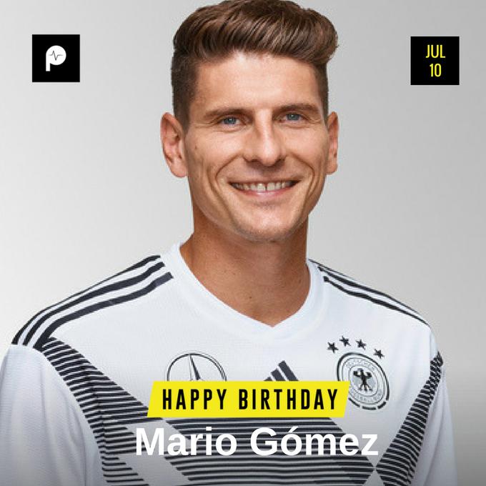 Happy Birthday to legendary German footballer  Mario Goméz   We wish you more life, more success!