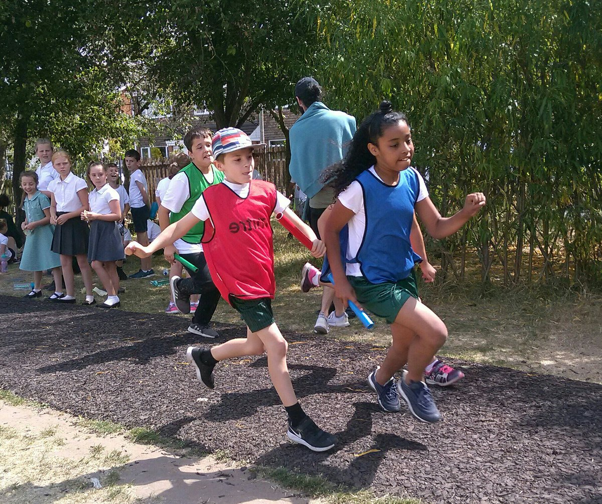 test Twitter Media - Years 3&4 had a cooler morning for a red hot sports day. Well done all. https://t.co/SlB5anriyF