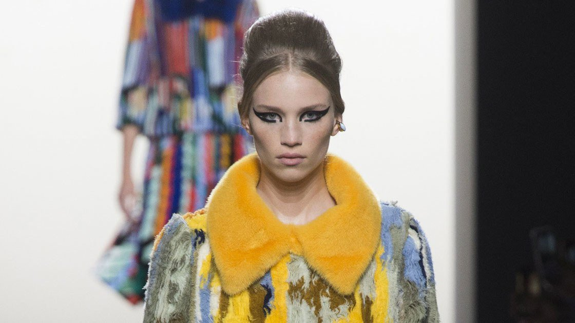 At The Fendi Couture Show In Paris Makeup Was A Striking Fusion Of