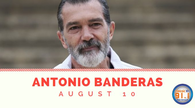 Happy birthday to Spanish actor, singer, and producer, Antonio Banderas