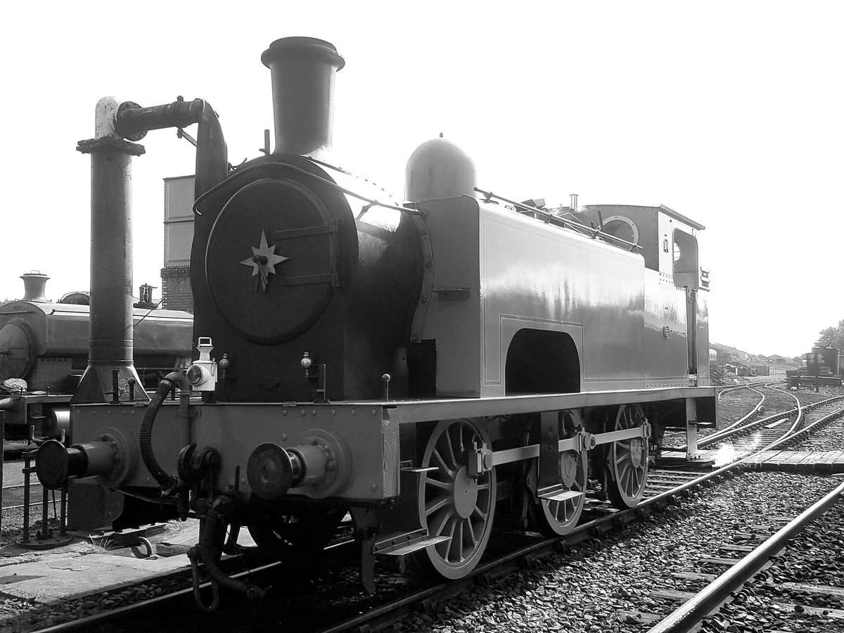 test Twitter Media - RT @chris_lothian: Today's 116 year old work horse. Neilson Reid No'1 - Lord Roberts @bonessrailway @srpssteam https://t.co/cIPS2fUlKi