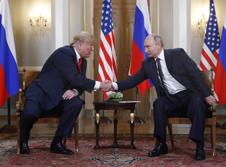 @BroadcastImagem: Temos grandes oportunidades na relação com a Rússia, diz Trump. Pablo Martinez Monsivais/AP
