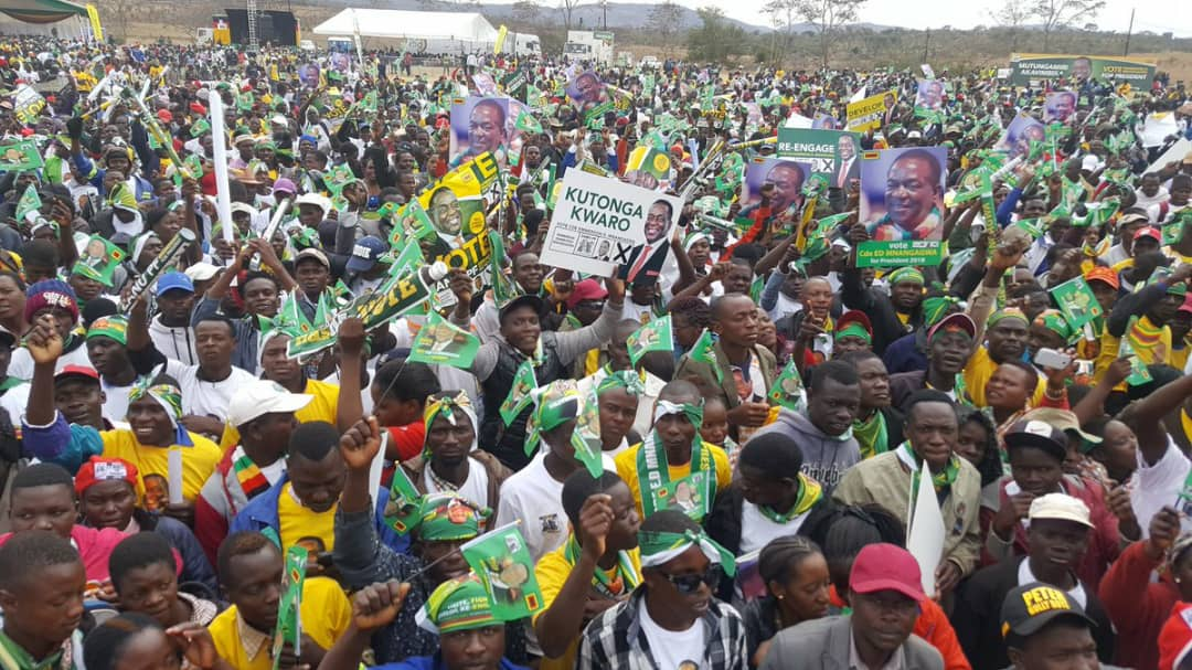 test Twitter Media - Pictures from the President rally in Chinhoyi this afternoon https://t.co/OI8ohqzSUU