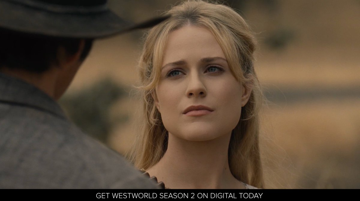 RT @WestworldHBO: One last role to play.  Own #Westworld Season 2 on Digital today: https://t.co/FjHs7GOKH6 https://t.co/wIsuMT5mVi