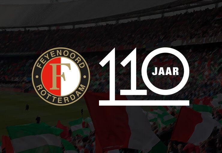 test Twitter Media - Feyenoord 1️⃣1️⃣0️⃣ jaar!   Gefeliciteerd, Feyenoorders! ❤️  #Feyenoord110 https://t.co/LN8z8BHNRX