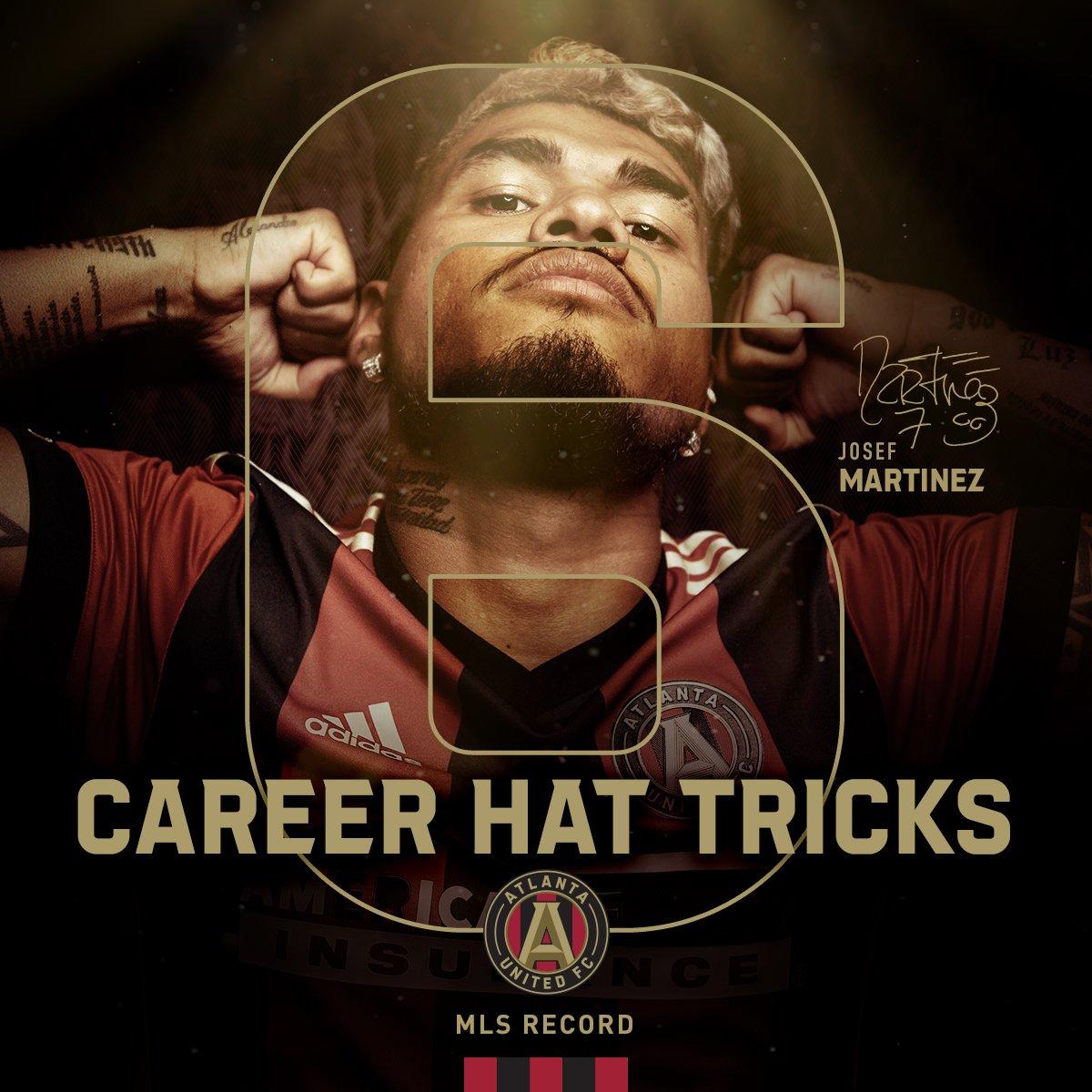 RT @ATLUTD: The hat-trick king 👑  @JosefMartinez17 sets the all-time @MLS record https://t.co/2kKViHsR2p