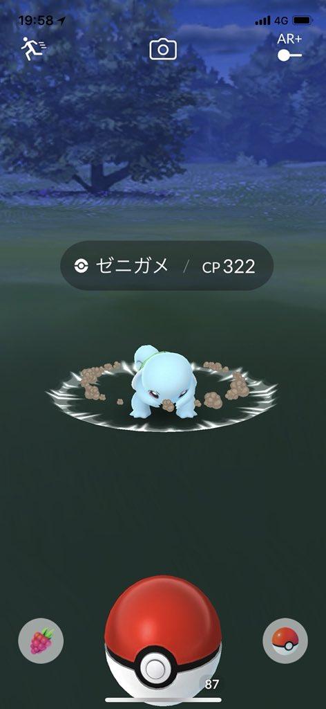 ゼニガメ 色違い 進化