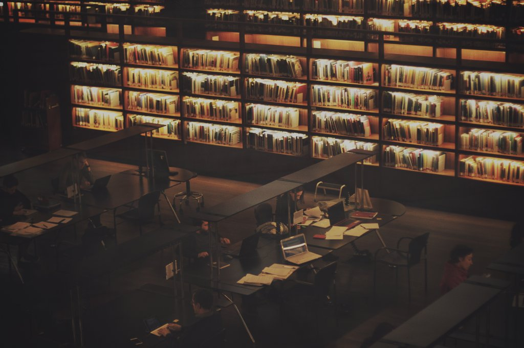 The library... my kind of hangout. ♥ ♥ ♥  https://t.co/s6ahc3RpQk https://t.co/neghL4YRn5