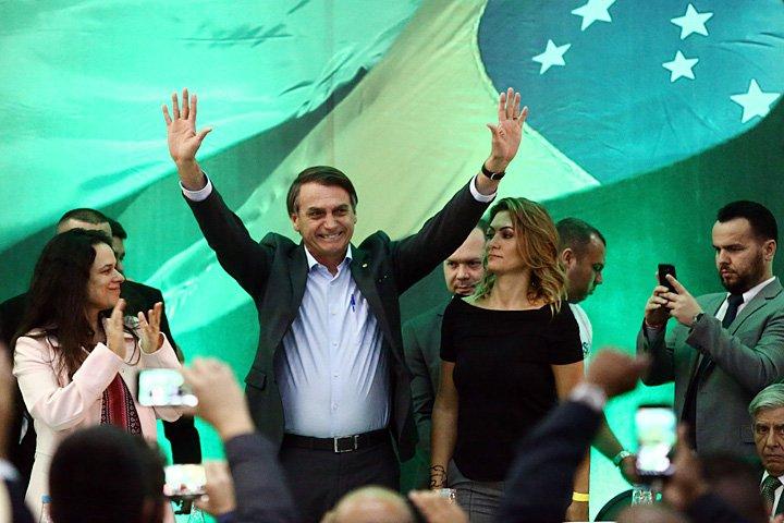 @BroadcastImagem: Jair Bolsonaro é oficializado candidato do PSL à Presidência da República. Fabio Motta/Estadão