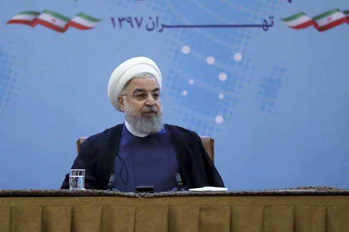 @BroadcastImagem: Presidente iraniano Hassan Rouhani adverte Trump contra provocações dos EUA. Presidência do Irã/AP