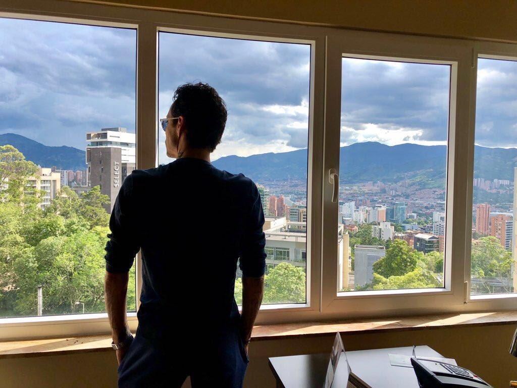 Medellin, han sido maravillosos conmigo siempre. Hasta nuestro próximo encuentro. https://t.co/Mk3kvonRrR