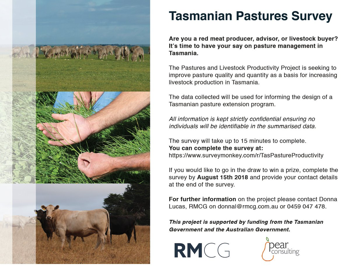 Are you a Tasmanian red meat producer, advisor or...