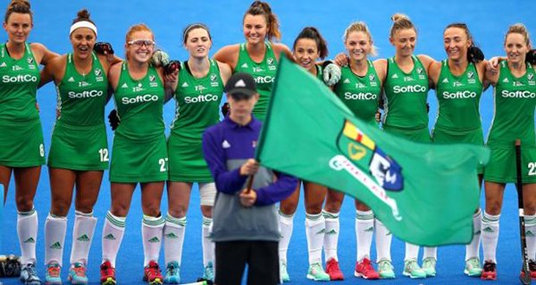 Best of luck to the Irish Womens hockey team as they take on Spain today in London! #COYGIG #GreenArmy #HWC2018😊 https://t.co/9byrC59ZUO