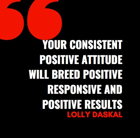 """test Twitter Media - Your consistent positive attitude will breed positive responsive and positive results. ~ """"The Leadership Gap"""" via @LollyDaskal https://t.co/pVKqaI7YVf #TheLeadershipGap #Book #Leadership #Management #HR https://t.co/mE5DmsXnEj"""