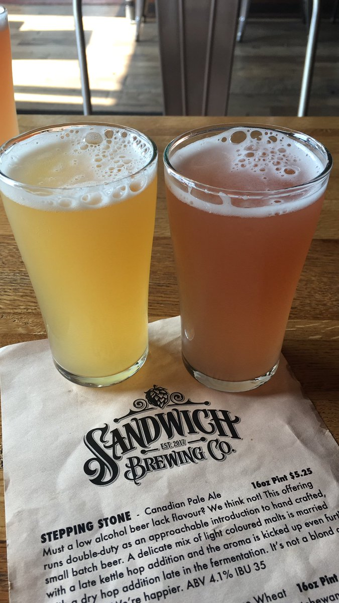 test Twitter Media - Loved this blood orange and raspberry beers I tried today at @SandwichBrewing in #Windsor! 🍻 #OntSouthwest @TWEPI https://t.co/MmtajFgX2a