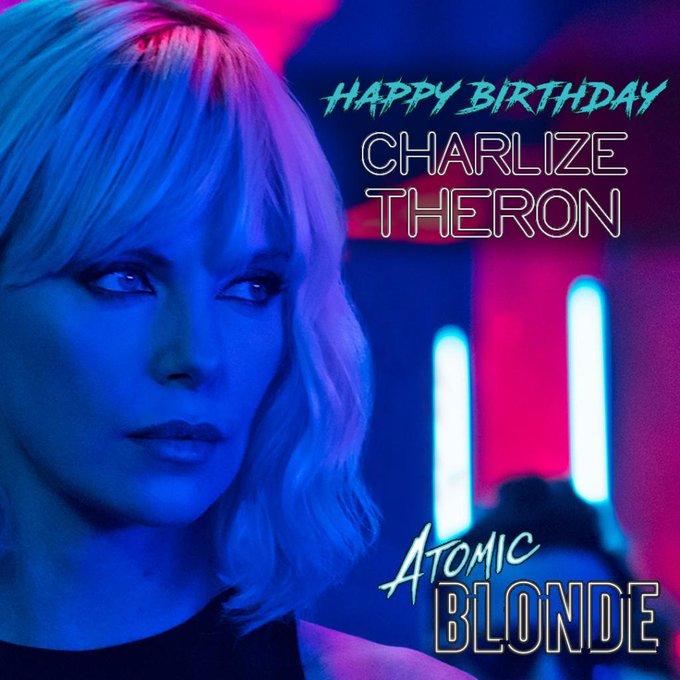 Happy Birthday, Charlize Theron ( )!